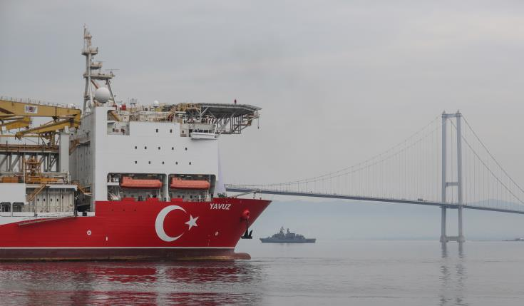 Turkish ship to begin drilling off Cyprus - minister