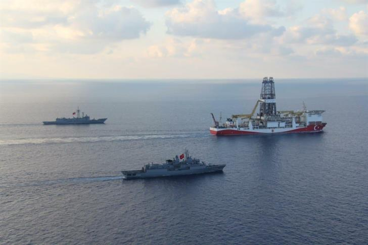 Report: Turkish ships force Israeli research vessel out of Cypriot waters