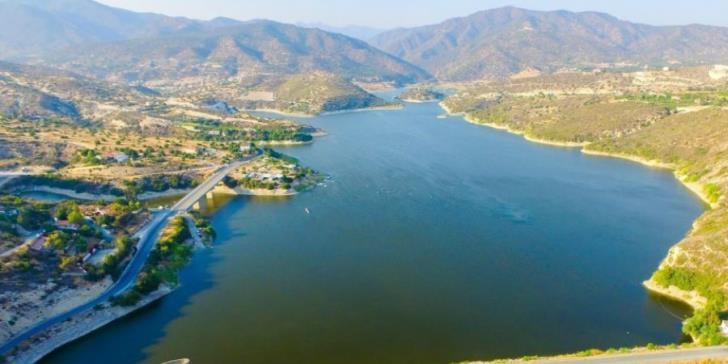 Yermasoyia dam set to overflow after midday