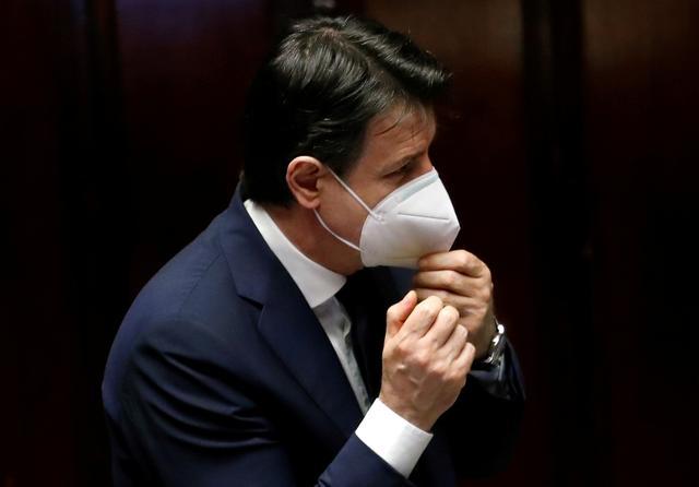Italy's Conte struggles to secure support in Senate showdown
