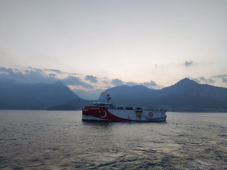 Research vessel Oruc Reis re-enters Greek waters