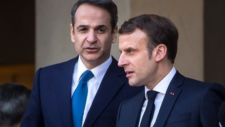 Greek PM Mitsotakis – President Macron a true friend of Greece