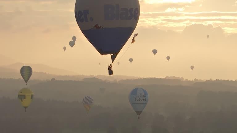 German Hot Air Balloon Championships At Tegernsee