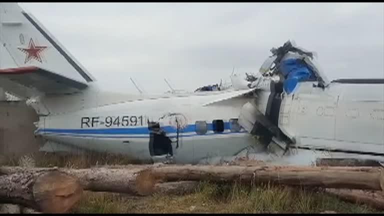 At Least 16 Dead As Russian Plane Crashes In Tatarstan Region