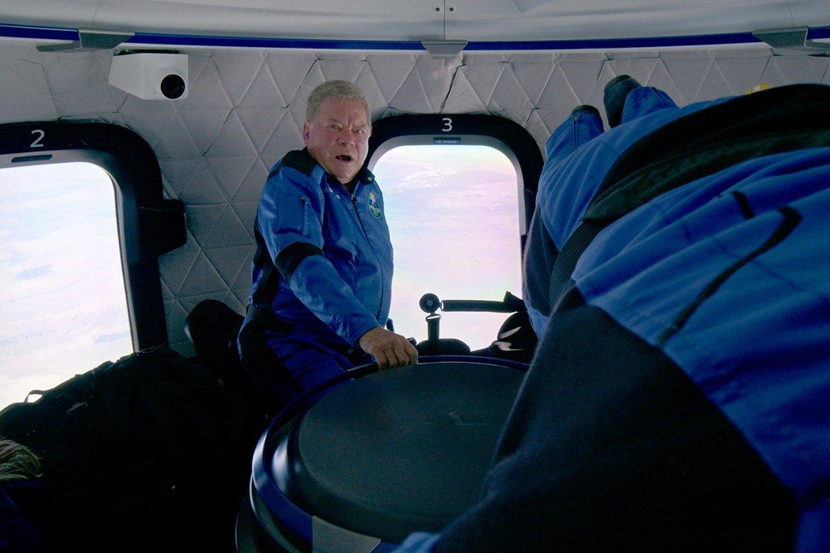 Star Trek Actor William Shatner Experiences Weightlessness On Blue Origin's Ns 18 Suborbital Flight Mission