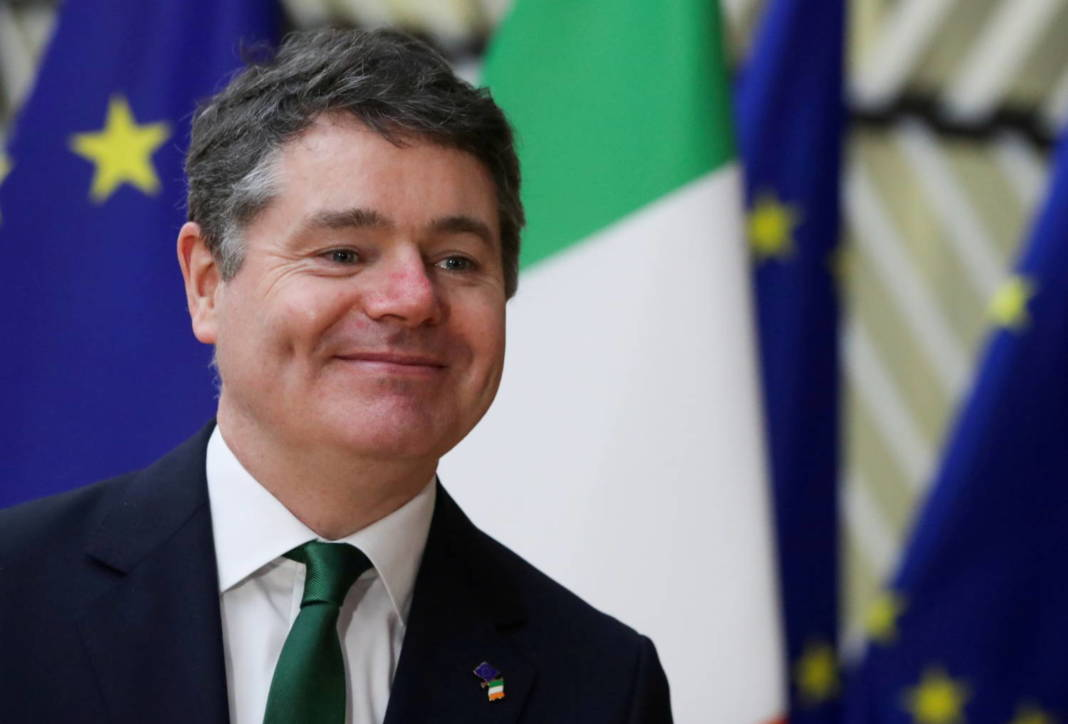 File Photo: Irish Finance Minister Paschal Donohoe Arrives At The Eu Council Headquarters In Brussels